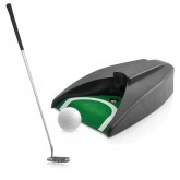 ชุดอุปกรณ์ซ้อมพัตต์ พร้อมระบบส่งลูกกอล์ฟกลับอัตโนมัติ (Putter, Golf ball Return System)