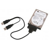 สาย USB to Hard Disk 2.5 SATA (คละสี)