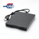 USB External Portable 3.5' 720KB 1.44MB Floppy Disk Drive Diskette