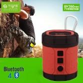 ลำโพง Bluetooth 4.0 สำหรับเดินป่า ท่องเที่ยว รุ่น BV350 Mini สีแดง