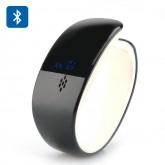 กำไล Smart Bluetooth รุ่น A404 สีดำ (คุยโทรศัพท์, รีโหมดควบคุมถ่ายภาพ, วัดการก้าวเดิน, การนอนหลับ...