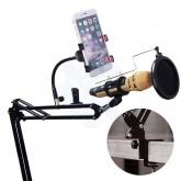 ขาตั้งไมโครโฟน Remax Mobile Recording Studio รุ่น CK100