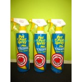 Pet pest spray plus (500ml) เพ็ท เพสท์ สเปรย์ พลัส ผลิตภัณฑ์ใช้กำจัดตัวเบียนภายนอก (เห็บ,หมัด)