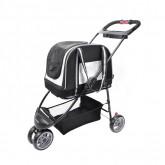 รถเข็นสุนัข Ibiyaya Double Fun Pet Carrier Stroller รถเข็นสุนัข+กระเป๋า รองรับนน.1-8กก.