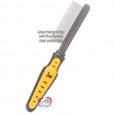 หวีแปรงสางขนสุนัข Pin brush :ยี่ห้อ JW GripSoft  Medium comb ใช้กับสุนัขทุกสายพันธุ์/ทุกขนาด
