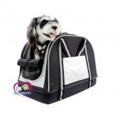 กระเป๋าใส่สุนัข Ibiyaya Double Fun Pet Carrier – Metallic Silver รับน้ำหนักสุนัขไม่เกิน 8กก