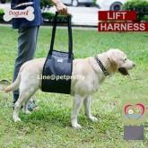 ที่พยุงตัวสุนัข DOG LEMI LIFT HARNESS  M ขนาดรอบอก  64-66cm  สีน้ำเงิน