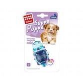 ของเล่นสุนัข GigWi Suppa cat (แมวสีฟ้า)มีเสียงปิ๊บๆ+ช่วยขัดฟันเวลางับๆ