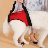 ที่พยุงตัวสุนัข DOG  LIFT HARNESS - L ขนาดรอบเอว 68 cm  สีดำแดง แบบพยุงขาหลัง