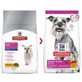 อาหารสุนัข HILL\'S SCIENCE DIET Small paw 7+ 1.5กก.สุนัขพันธุ์เล็ก อายุเกิน7ปีขึ้นไป