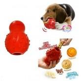 ของเล่นสุนัข Nylabone ผลิตภัณฑ์ที่เอาไว้ขัดฟัน และซ่อนขนมได้ Rhino Stuffable Dog Chew Toy