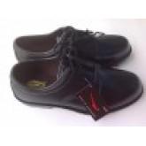 รองเท้าคัชชูผู้ชายยาง KITO รุ่น ssam0006 ผูกเชือกสีดำ