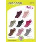 MONOBO รุ่น MALLY  รองเท้าแตะยางหูคีบ