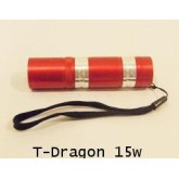 [L002] ไฟฉายปุ่มเขียว T-Dragon 15W