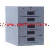 pmy8-24 ตู้เก็บเอกสารตั้งโต๊ะ A4 แบบ 5 ลิ้นชัก