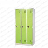 pmy14-1 ตู้ล็อคเกอร์ แบบ 3 บานประตู สีเขียว