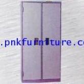 ตู้เหล็กเก็บเอกสารชนิด 2 บานเปิดมือจับแบบฝัง kkw4-2