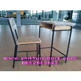 โต๊ะเก้าอี้นักเรียน มอก. ระดับ4 ประถมศึกษา kkw1-2