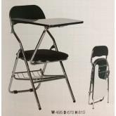 โต๊ะเก้าอี้นักเรียนเก้าอี้แลคเชอร์เบาะพับ kkw7-3