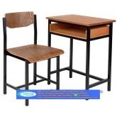 โต๊ะเก้าอี้นักเรียน A4 มัธยม kkw1-10
