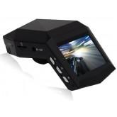 กล้องติดรถยนต์สำหรับวางตั้งหน้าคอนโซล คมชัดระดับ Full HD 1080P สีดำ