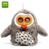 ตุ๊กตานกฮูก ควบคุม ด้วย SmartPhone สีเทา