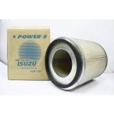 ไส้กรองอากาศ POWER-S สำหรับ รถยนต์ อีซูซุ ISUZU BU (1-14215173-0) อะไหล่แท้ รถยนต์(รหัส PSA-106-S)