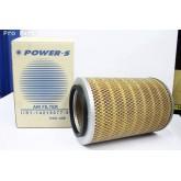 ไส้กรองอากาศ POWER-S สำหรับ รถยนต์ อีซูซุ ISUZU FVM-Z(1-14215077-0) อะไหล่แท้ รถยนต์(รหัส PSA-108-S)