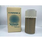 ไส้กรองอากาศ POWER-S สำหรับ มิตซูบิชิ MITSUBISHI L200D MD603446 อะไหล่แท้ รถยนต์ (รหัส PSA-224-S)