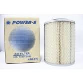 ไส้กรองอากาศ POWER-S สำหรับ รถบรรทุก ฮีโน่ HINO FB777 FB112 (17801-2410) อะไหล่แท้ (รหัส PSA-970-S)