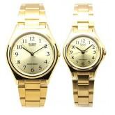 นาฬิกา Casio เซ็ทคู่ ชาย-หญิง Casio Standard รุ่น LTP-1130N-9B and MTP-1130N-9B
