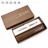 ปากกา Cross Classic Century Lustrous Chrome BP-3502 พร้อมกล่องสุดหรู