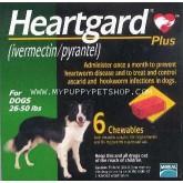 Heartgard PLUS สุนัข  12 - 22 กก.  กันพยาธิหนอนหัวใจและถ่ายพยาธิภายใน EXP: 04/2022