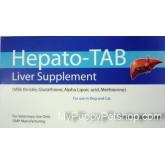 Hepato-Tab (Plus Vit C+B) ยาบำรุงตับสุนัขและแมว กำจัดสารพิษ ขับของเสียสะสมในตับ (10 เม็ด)