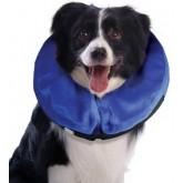 Kong E-Collar for Dogs (Medium) คอลล่ากันเลีย ใหม่หุ้มด้วยผ้ากำมะหยี่ นุ่มเบา (รอบคอ 10-14 นิ้ว)