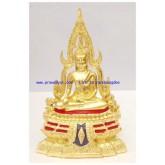 พระบูชา พระพุทธชินราช หน้าตัก 3 นิ้ว ปิดทองแท้