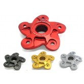 CNC Racing Rear Sprocket/Flange Cover (5 Hole) ฮับสเตอร์ 5 รู สำหรับ Monster796, 1100, 1100 EVO