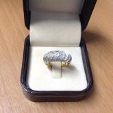 แหวนเพชรแท้ ดีไซส์สวยเก๋ ราคา 9,900 บาท(rg1511)