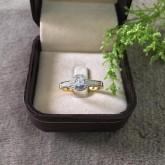 แหวนเพชรแท้ดีไซน์สวยน่ารัก ราคา 13,900 บาท (rg2481)