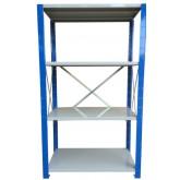 ชั้นวางสต๊อกสินค้า micro rackไมรโครแร็คMi501501804F ลึก500x1500x1800 มม.4ระดับชั้น(ชุดต้น)