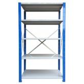 ชั้นวางสต๊อกสินค้า micro rackไมรโครแร็คMi501501805F ลึก500x1500x1800 มม.5ระดับชั้น(ชุดต้น)