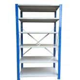 ชั้นวางสต๊อกสินค้า micro rackไมรโครแร็คMi501502006F ลึก500x1500x2000 มม.6ระดับชั้น(ชุดต้น)