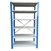 ชั้นวางสต๊อกสินค้า micro rackไมรโครแร็คMi501502206F ลึก500x1500x2200 มม.6ระดับชั้น(ชุดต้น)