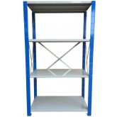 ชั้นวางสต๊อกสินค้า micro rackไมรโครแร็คMi501802204F ลึก500x1800x2200 มม.4ระดับชั้น(ชุดต้น)
