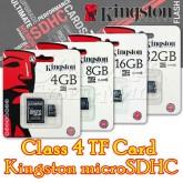 4GB TF Card Kingston microSDHC – Class 4
