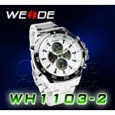 WEIDE – WH-1103-2: Dual Time Dual System Alarm Chronogragh Sport Watch