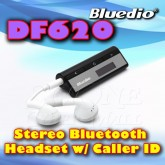 BLUEDIO DF620 Stereo A2DP Bluetooth Headset With Caller ID