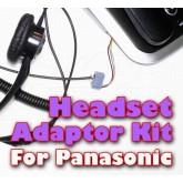 Headset Adaptor Set For Panasonic