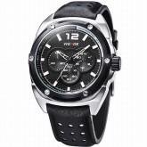 WEIDE WH3306-1 Men Sports Watch [Black-White]