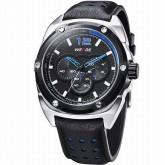 WEIDE WH3306-2 Men Sports Watch [Black-Blue]